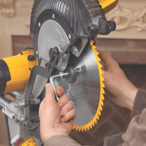DEWALT 12-Inch Sliding Compound Miter Saw, Double Bevel
