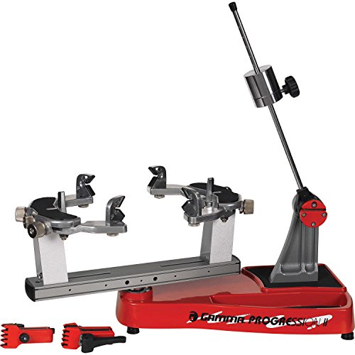 Gamma Progression II 602 Tennis Stringing Machine, Red/Black (Stringing Machine)