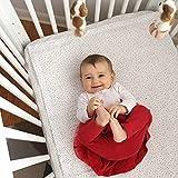 QuickZip Crib Sheet Set - Faster, Safer, Easier