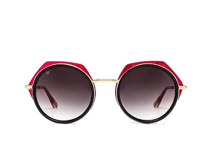 Woodys Barcelona Gafas de sol NURIA 03 negro oro rojo ...