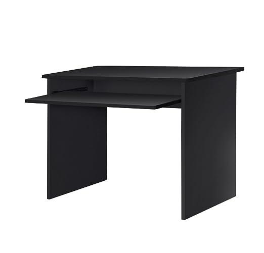 lyndan – Onalaska negro mesa de ordenador escritorio compacto para ...