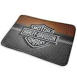 Altresia OrrS Harley Davidson Indoor Outdoor Doormat Non-Slip Floor Mat Floor Rug Carpet Decoration Durable