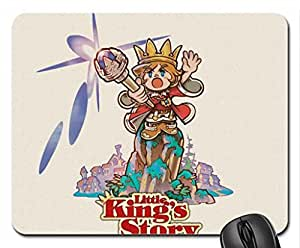 little king's story Mouse Pad, Mousepad (10.2 x 8.3 x 0.12 inches)