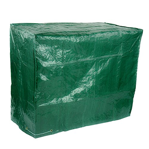 Gardeningwill Large Wagon Trolley Oil Barrel BBQ Barbecue Green Garden Protection Waterproof Cover (Barbecue Wagon)
