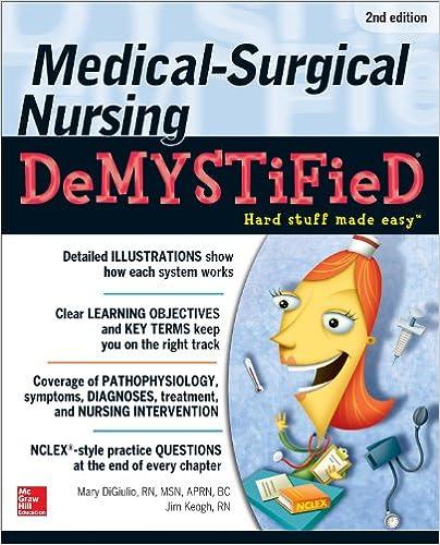 Amazon medical surgical nursing demystified second edition medical surgical nursing demystified second edition 2nd edition kindle edition fandeluxe Gallery