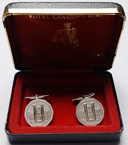 Unbranded Vintage Royal Canadian Mint Cufflinks Minted by The RCM Hard to FIND (Cufflinks Mint)