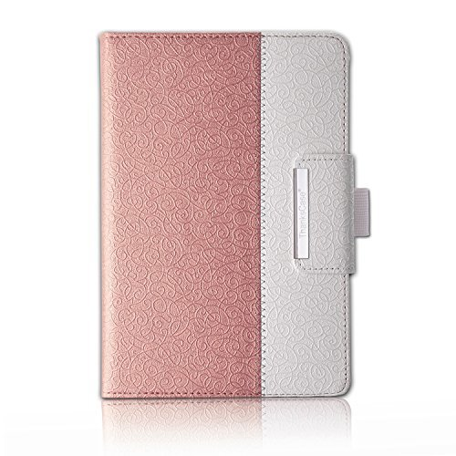 Thankscase iPad Pro 9.7 Case, Rotating Case Cover for iPad Pro 9.7-inch with Wallet Pocket with Hand Strap with Auto Sleep/Wake Function (NOT fit iPad 9.7-inch 2018/2017) (Rose Gold)