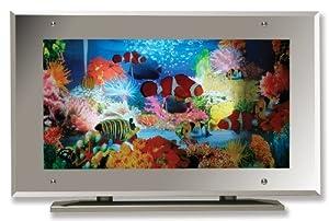 Amazon Com Aquarium Lamp Fish Mirror Frame Moving Picture