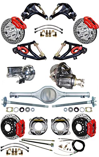 Currie Rear Ends - NEW SUSPENSION & WILWOOD BRAKE SET FOR 55-57 CHEVY, CURRIE REAR END & AXLES, 9