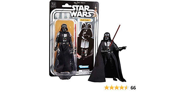 Star Wars The Black Series carbonisé Darth Vader Amazon 40th Anniversaire