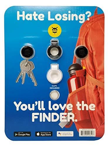 Pebblebee Tracker Item & Phone Finder Pack, Rose Gold and Black Gunmetal