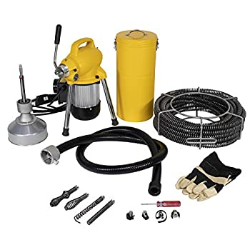 Image of Steel Dragon Tools K50 Drain Cleaning Machine fits RIDGID Snake Sewer C8 Cable 58980 Home Improvements