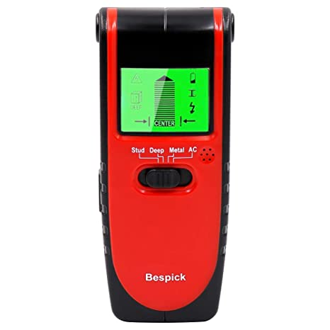 CARIHOME Stud Finder Multiscanner Electric Wall Detector Center Finding Tools With Live AC Wirewarning Detection for