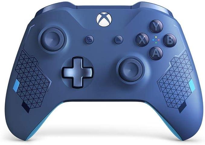 Microsoft - Mando inalámbrico, Sport Blue [Edición Especial] (Xbox ...