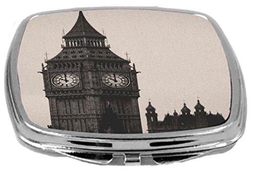 Rikki Knight Compact Mirror, Vintage Big Ben Clock Tower