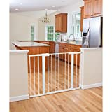 Safety 1st - Tall and Wide Easy Install Gate- White