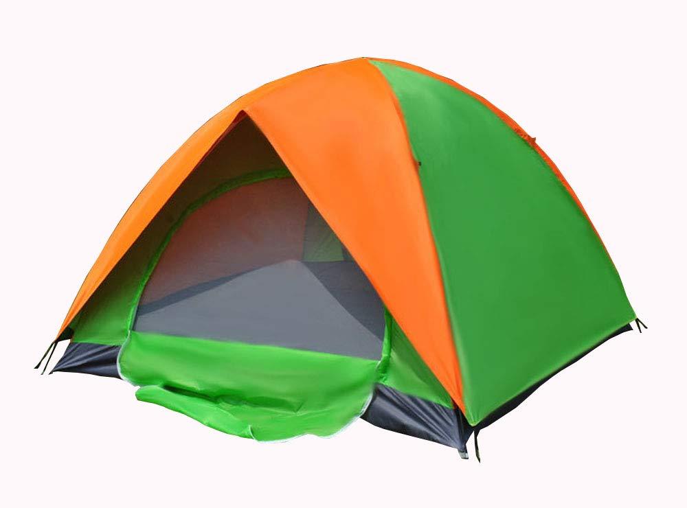 MMTC Outdoor-Zelt Multi-Personen-Camping-Ausflug Doppel-Doppeltür 3-4 Personen Regen Klettern Zelt