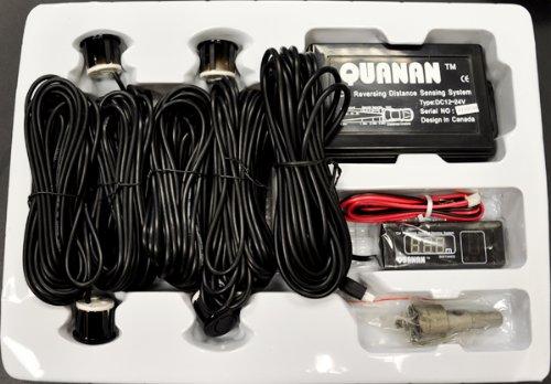 Quanan 8 M Parking Sensors Buzzer LED for Metal Bumpers Van