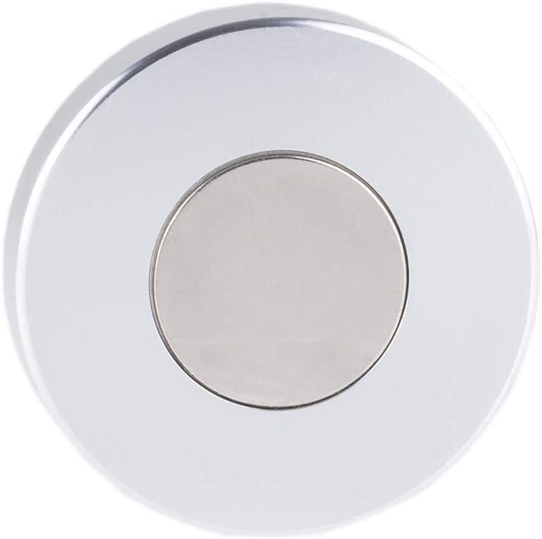 2/° und 3/° Magnetische Dosenlibelle Gewicht 80gr mit starkem Magnet als tempor/äre Befestigungsm/öglichkeit Wasserwaage silberfarben aus robustem Metall gesamt /Ø 6cm 1 cm H/öhe mit Gradanzeige von 1/°