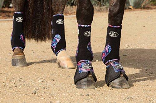 Professional's Choice ♦ VENTECH Elite Equine Sports Medicine Boots Set of 4 Colors (Crimson Red, Medium) by Professional's Choice (Image #5)