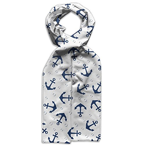 Price comparison product image Anchor Marine Pattern Polyester Scarves Grafiti Warm For Children Gift