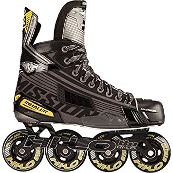Mission Senior Inhaler DS3 Roller Hockey Skates - (Black, 7