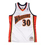 Stephen Curry Golden State Warriors #30 NBA Mitchell & Ness Men's 2009-2010 Authentic Jersey White (Medium (40))