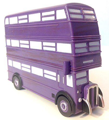 Wizarding World of Harry Potter : Triple Decker Knight Bus Toy Car Vehicle