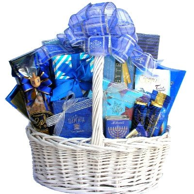 Festival Of Lights (Medium): Send Kosher Hanukkah Gift Baskets