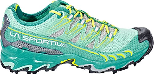 La Sportiva Mutant Kvinna Trail Löparskor - Ss18 Ultra Rovfågel Kvinna Smaragd / Mint Talla: 41