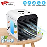SUNBOND Portable Air Conditioner, USB air Cooler, Humidifier Purifier, Desktop Mini Cooling Fan, Personal Desktop Fan, Five-in-one,3 speeds,Quiet for Personal Spaces Such as Offices, Indoors, Outdoor