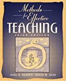 Methods for Effective Teaching (3rd Edition)