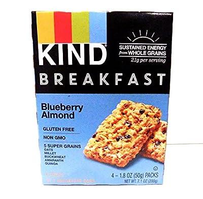 KIND Breakfast Bars - Blueberry Almond - 1.8 ounces - 4 ct