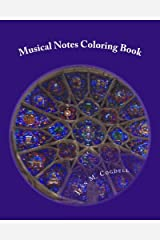 Musical Notes Coloring Book: Relaxing Adult Coloring Book Paperback
