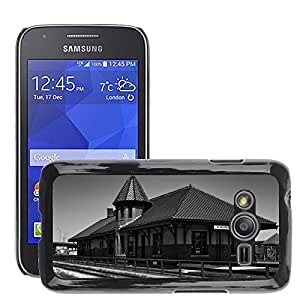 Hot Style Cell Phone PC Hard Case Cover // M00170466 Council Bluffs Iowa Train Station // Samsung Galaxy Ace4 / Galaxy Ace 4 LTE / SM-G313F
