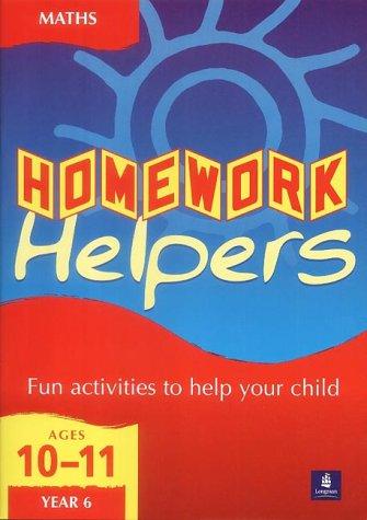 Homework Helpers KS2 Mathematics Year 6 (LONGMAN HOMEWORK HELPERS)