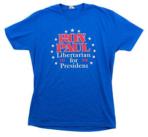 Ron Paul '88   Vintage-Style Retro Libertarian Presidential Unisex T-shirt