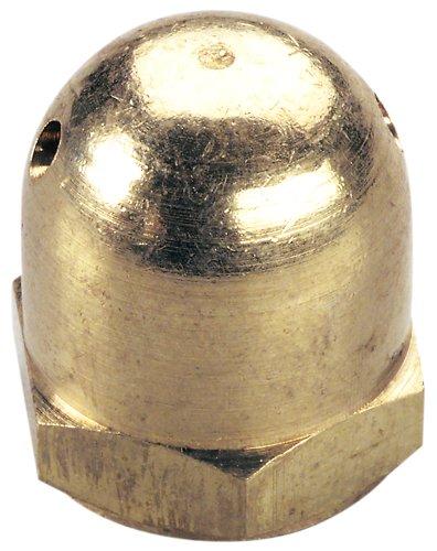 Great Planes 1/4-28 Brass Heavy Spinner Nut (Planes Spinner Great)