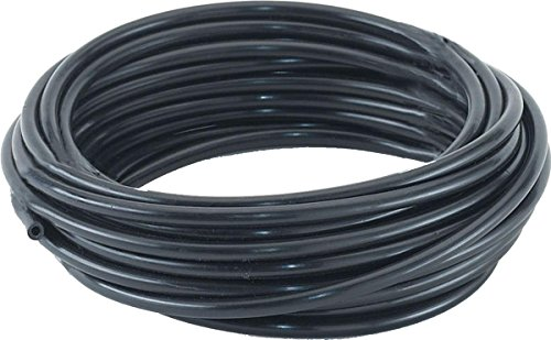 Dare Products 2453 Electric Fence Insulator Tubing, Accomodates Upto 12-1/2 Gauge Fence Wire, Withstands 20,000 Volts, 50-Feet Polyethylene, Black