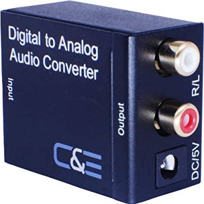 Digital Optical Coax to Analog R/L audio converter