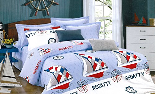 Ahmedabad Cotton Contemporary Comfort Cotton Double Bedsheet with 2 pillow covers