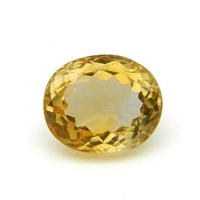 Buy Malabar Gems Yellow Topaz 9 Carat / 10 Ratti Lab Certified