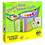 Creativity for Kids Flowers Press & Nature Cards