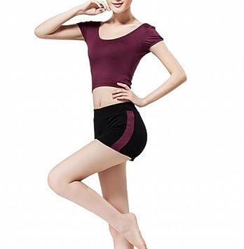 YJFF Sport Yoga Wear Modal Set Sport Vest Shorts Ropa ...
