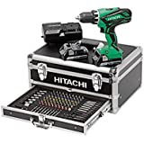 Hitachi Trapano Avvitatore, 18 V, 100 Accessori-Kc18Djlf