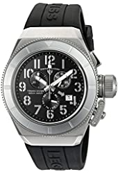 Swiss Legend Men's 'Trimix Diver' Swiss Quartz Stainless Steel Casual Watch (Model: 13844-01-WA)