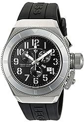 Swiss Legend Men's 'Trimix Diver' Swiss Quartz Stainless Steel Casual Watch (Model: 13844-01-WA)