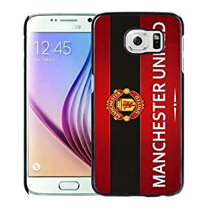 Popular Samsung Galaxy S6 Case, Beautiful Designed Case With Manchester United 9 Black Samsung Galaxy S6 Cover