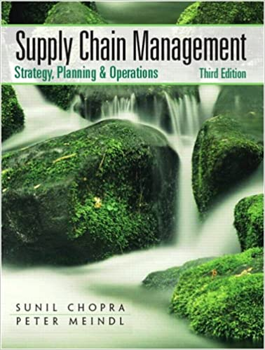 Supply chain management 3rd edition sunil chopra peter meindl supply chain management 3rd edition sunil chopra peter meindl 9780131730427 amazon books fandeluxe Choice Image