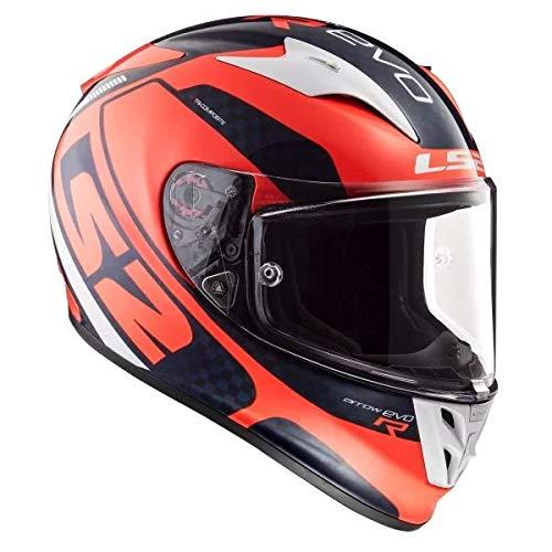 LS2 FF352 Wolf Motorcycle Helmet Red XL
